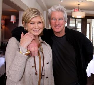 Martha with gere