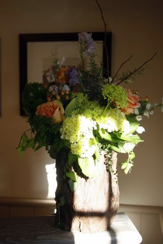 Rich gere flower arrangement