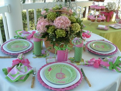 Lilly Pulitzer Tablescape 028
