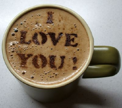 Coffeestencil i love you