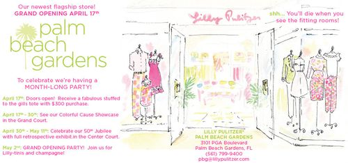 Lilly store opening