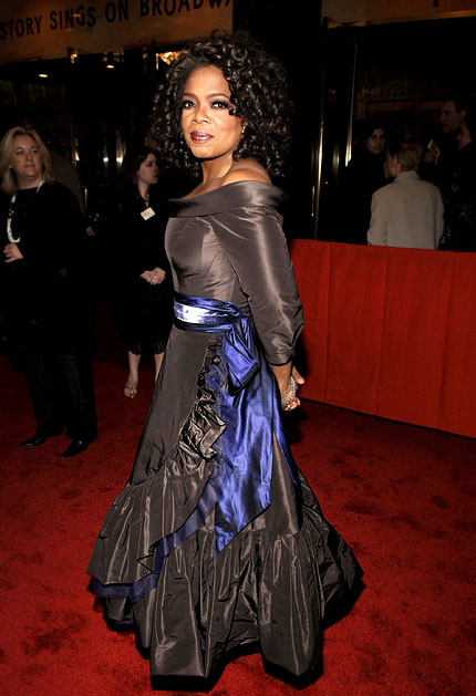 Oprah slim gown 2005