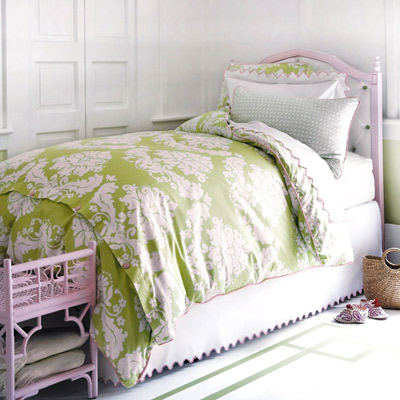 Layla grace pink and green bed