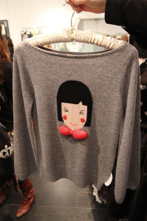 Elizabeth Lau knit