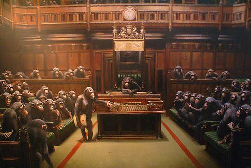 Banksy-monkey-parliament